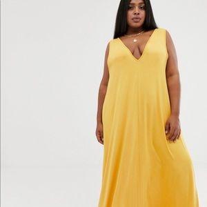 Deep V ASOS Maxi Dress